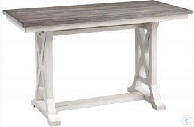 Bar Harbor Ii Cream Counter Height Dining Table