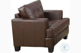 Samuel Dark Brown Chair
