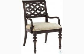 Royal Kahala Molokai Rich Kona Dark Arm Chair