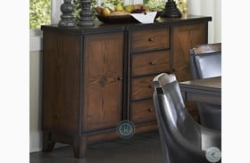 Bayshore Burnished Oak Server