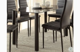 Florian Black Dining Table