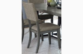 Avenhorn Gray Side Chair Set of 2