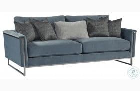 La Scala Nickel Frame Sofa