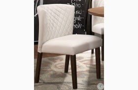Nelina White Dining Chair Set of 2