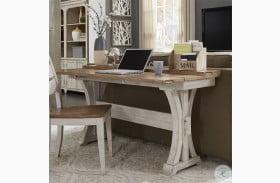 Farmhouse Reimagined Antique White Flip Lid Sofa Table