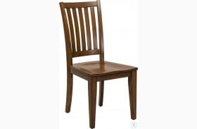 Hampton Bay Cherry School House Chair