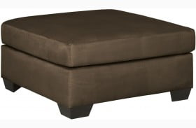 Darcy Cafe Oversized Accent Ottoman