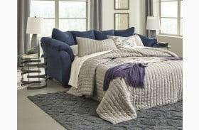 Darcy Blue Full Sofa Sleeper