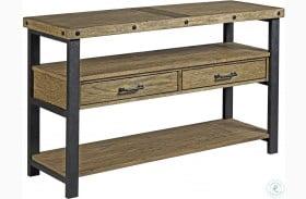 Hamilton Workbench Rustic Sofa Table