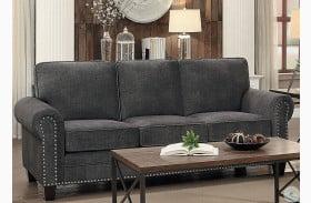 Cornelia Dark Grey Sofa