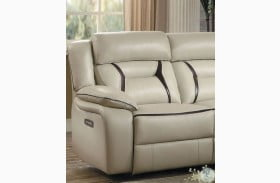 Amite Beige LAF Power Reclining Chair