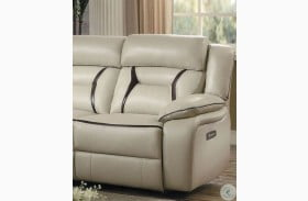 Amite Beige RAF Power Reclining Chair