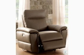 Olympia Brown Power Reclining Chair