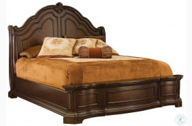 Edington Panel Bed