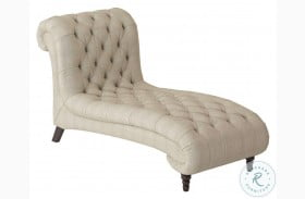 St. Claire Brown Fabric Chaise
