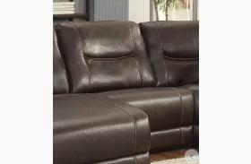 Columbus Brown Armless Chair