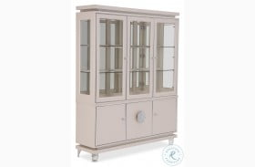 Glimmering Heights Ivory China Cabinet