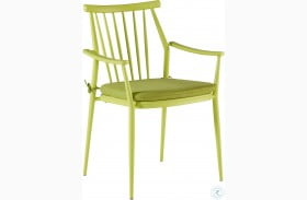 Epicenters Austin Paint Green Darrow Outdoor Arm Chair Set of 2