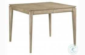 "Symmetry Sand Summit 58"" Extendable Dining Table"