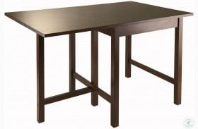 Lynden Walnut Drop Leaf Extendable Dining Table