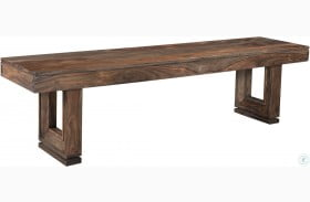 Brownstone Nut Brown Dining Bench