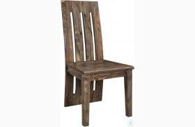 Brownstone Nut Brown Dining Chair Set of 2