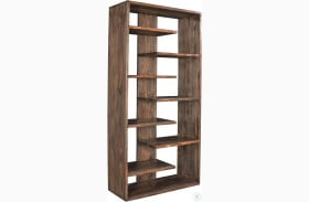 Brownstone Nut Brown Bookcase