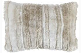 Amoret Tan and Cream Pillow Set of 4
