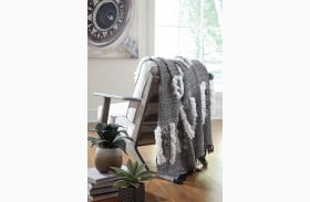 Jarmaine Black and Whit Throw Set of 3