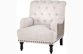 Tartonelle Beige Accent Chair