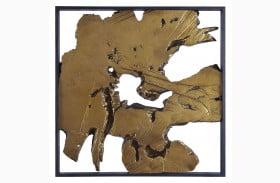 Fabiana Black and Gold Wall Decor