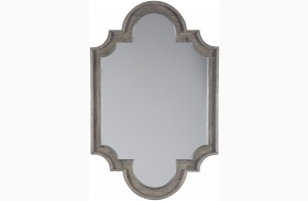 Williamette Antique Gray Accent Mirror