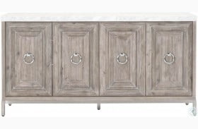 Azure Natural Gray Carrera Sideboard