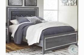 Lodanna Gray Panel Upholstered Bed