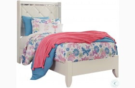 Dreamur Champagne Youth Panel Bed