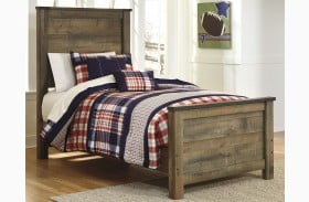 Trinell Brown Youth Panel Bed