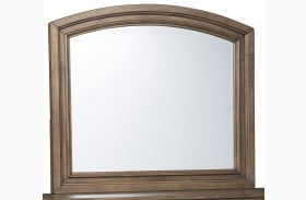 Flynnter Medium Brown Bedroom Mirror