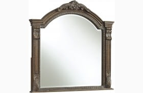 Charmond Brown Bedroom Mirror