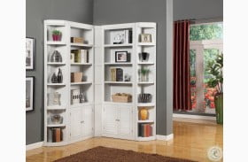 Boca L Shape Bookcase Wall