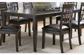 "Bristol Point 78"" Warm Grey Brown Extendable Rectangular Dining Table"