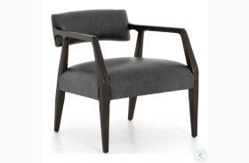 Abbott Chaps Ebony Tyler Arm Chair