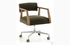 Abbott Modern Velvet Loden Tyler Desk Chair