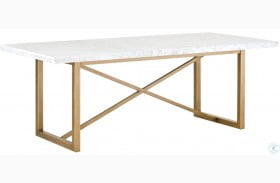 Carrera Stone Wash Dining Table