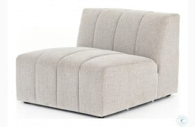Grayson Napa Sandstone Langham Channelled Armless Chair