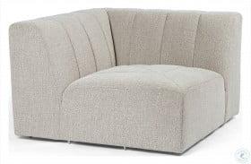 Grayson Napa Sandstone Langham Channelled Corner Chair