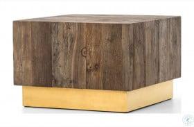 Hughes Polished Brass Hana Bunching Table