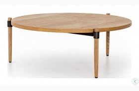 Irondale Waxed Black Holmes Coffee Table
