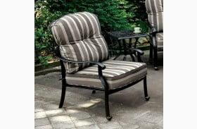 Fernanda Antique Black Outdoor Chair Set of 2
