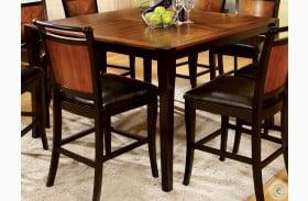 Salida II Acacia Square Counter Height Leg Dining Table