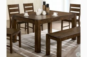 Mccall Distressed Wood Dining Table